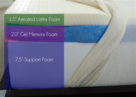 memory foam mattress sinking middle gel memory foam mattress reviews