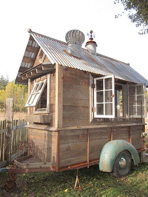 Shed On Wheels by Shed Inspiration 12 Recycled Reclaimed Eco Friendly