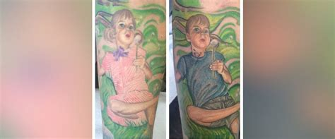 transgender tattoos transforms of trans to match his identity