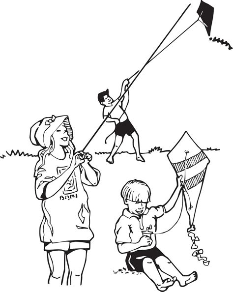 coloring pages with child s name coloring pages of child flying kites trends for gt flying
