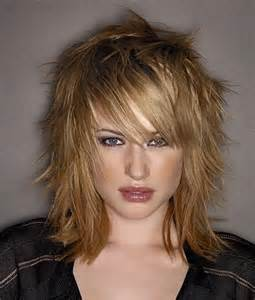 razor hairstyles medium length razor haircuts