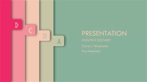 Creative Free Powerpoint Template Free Powerpoint Templates Canary Templates Youtube Powerpoint Presentations Templates Free
