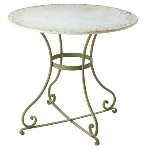 Distressed Bistro Table Distressed Bistro Table