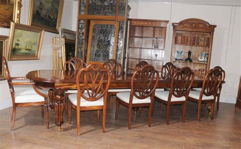 victorian dining room sets victorian style dining table set with hepplewhite chairs