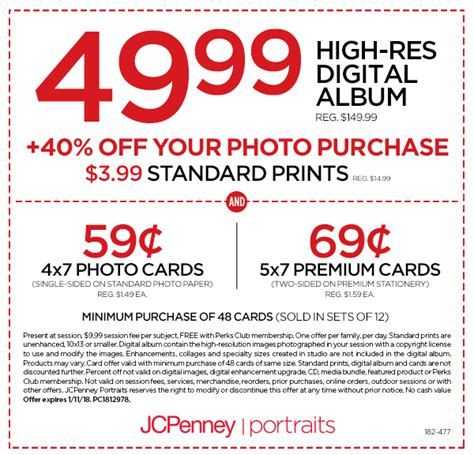 jcpenney portrait coupons printable 7 99 photography coupon i portrait studio offers jcpenney