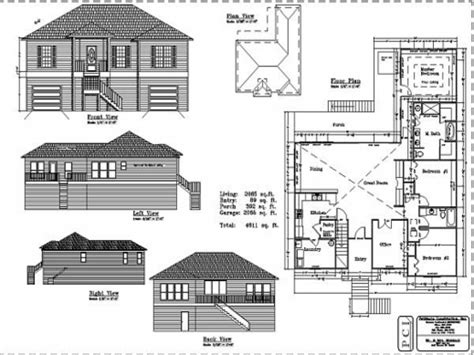 floor plans and elevations fantastic elevation and floor plan of a house escortsea