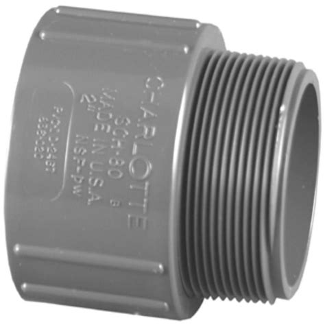 schedule 80 pvc shop pipe 3 4 in dia pvc sch 80 adapter at lowes