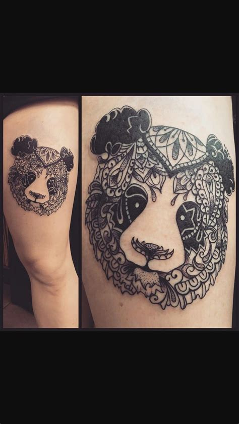 panda tattoo design 17 best ideas about panda tattoos on