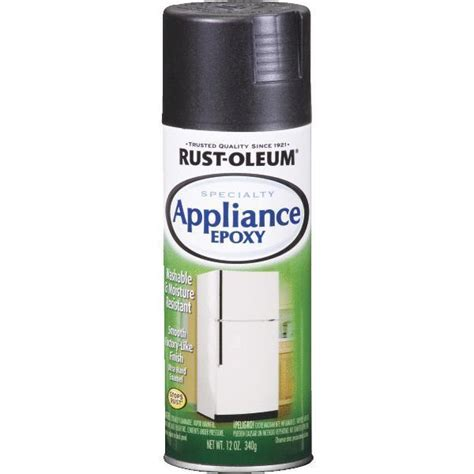 appliance paint colors appliance and metal epoxy black spray paint by rustoleum