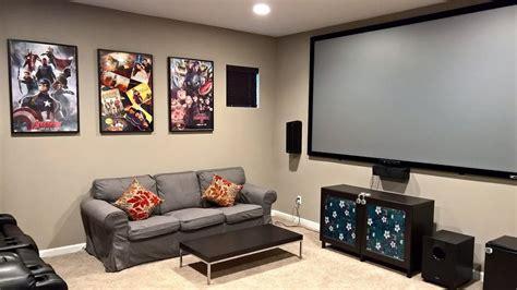 room setup a basic media room setup