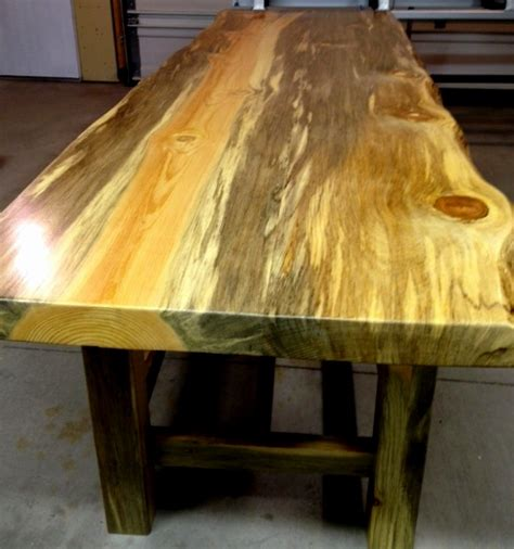 beetle kill pine table top sustainable lumber company