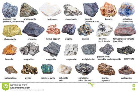 imagenes mamonas con nombres fije de los minerales crudos y de los minerales con