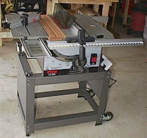 Ryobi Bt3000 Table Saw by Christopher Quade Woodworking Power Tools