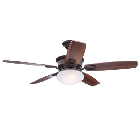 large indoor ceiling fans hton bay lazerro ii 52 in indoor oil rubbed bronze