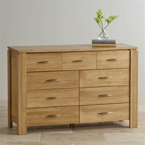 9 Drawer Chest by Galway Solid Oak 9 Drawer Chest By Oak Furniture Land