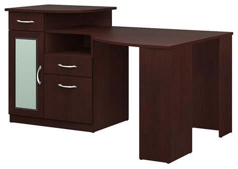 Bush Furniture Vantage Corner Desk Bush Furniture Vantage Corner Desk X 30 A51666mh Contemporary Desks And Hutches By