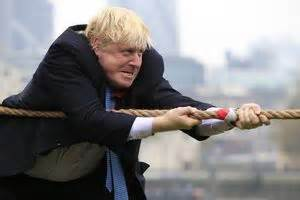Gisele Bundchen For Tug by Boris Johnson Puts His On During A Of Tug
