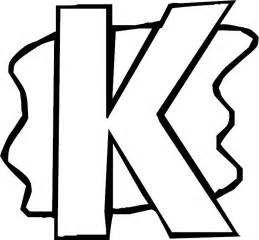 letter k coloring page letter k alphabet coloring page
