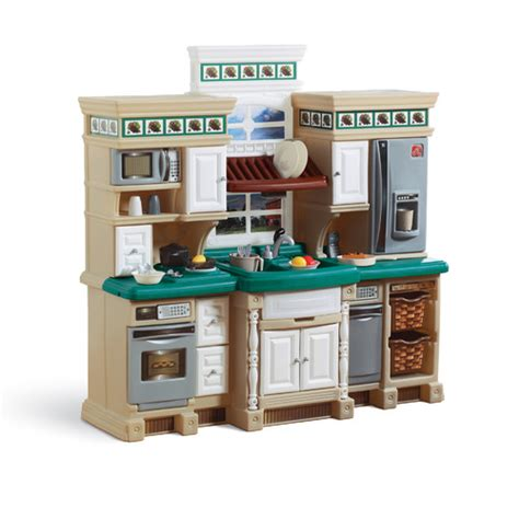 Step 2 Lifestyle Kitchen Replacement Parts by Step2 Lifestyle Deluxe Kitchen Set Reviews Wayfair