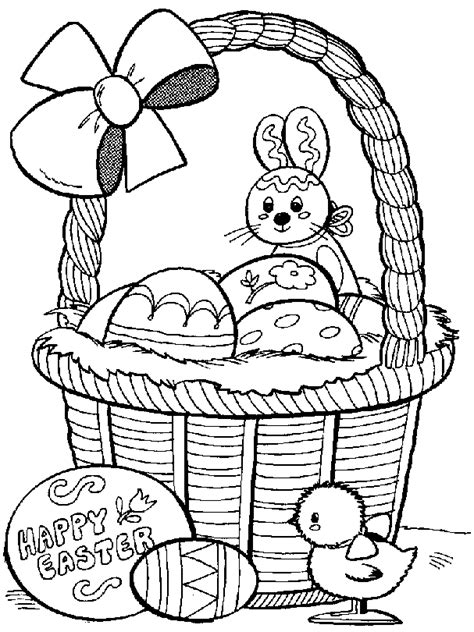 free coloring pages easter eggs coloring page