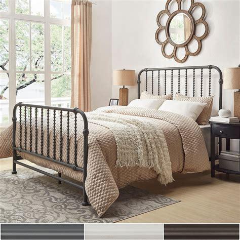 metallic bedding gulliver vintage antique spiral full iron metal bed by