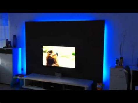 tv wand beleuchtet beleuchtete tv wand 4 how to save money and do it yourself
