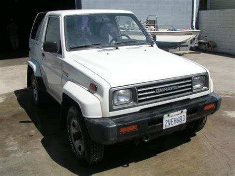 1990 daihatsu rocky 1a aardvark movie props and more
