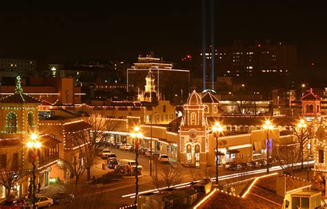 Kansas City Plaza Lights by Plaza Lights Kansas City Missouri By Lizardbeth