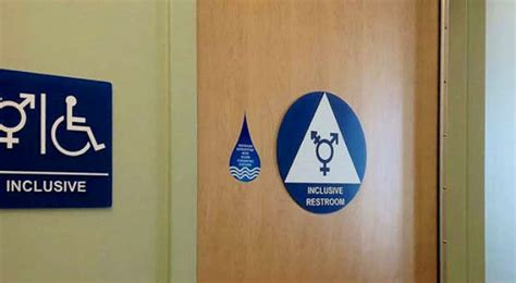 trans inclusive bathroom signs the of the bathroom the rocky mountain collegian