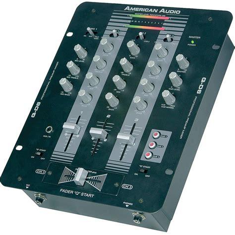 Audio Mixer American Standard american audio q d6 pro 3 channel dj mixer q d6 b h photo