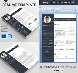 Word Templates For Resume by 20 Professional Ms Word Resume Templates With Simple
