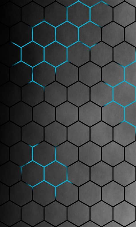 honeycomb neon    wallpapers