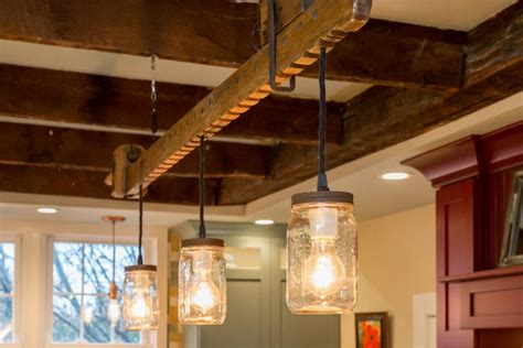 unique diy farmhouse overhead kitchen lights 20 diy chandelier designs ideas design trends
