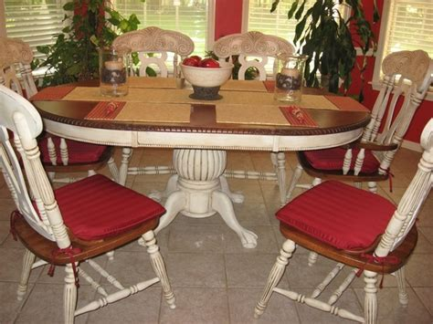 How To Paint Table And Chairs by 24 Best Images About Pressed Back Chairs On