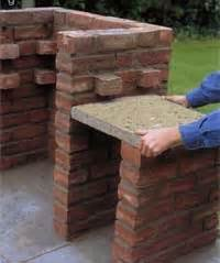 brick barbeque an easy to build brick barbeque plan