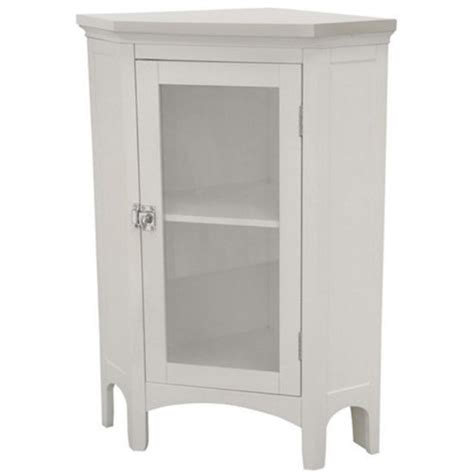 bathroom storage corner floor cabinet by echelon