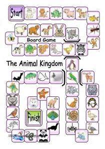 board game the animal kingdom english language esl