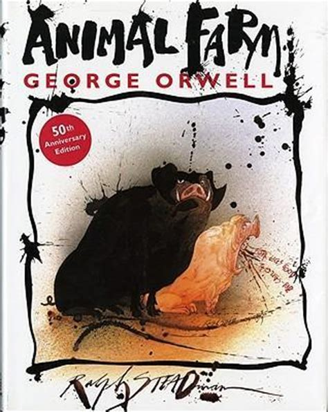 libro animal farm the illustrated animal farm george orwell 9780151002177