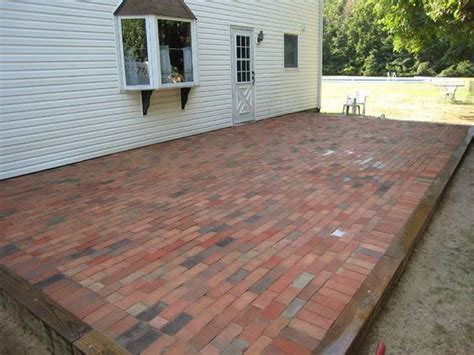 How To Cover A Concrete Patio With Pavers Concrete Patios The O Jays And On Pinterest