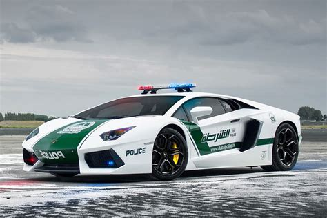 Dubai Police Car Fleet Ensures There is No Outrunning the