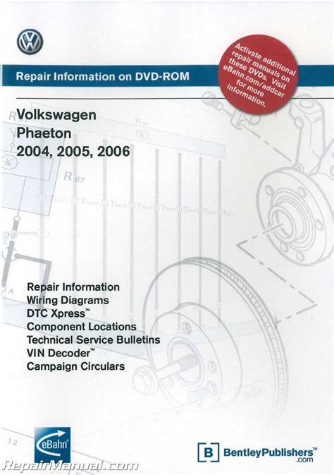 service repair manual free download 2004 volkswagen phaeton free book repair manuals volkswagen phaeton 2004 2005 2006 repair manual on dvd rom