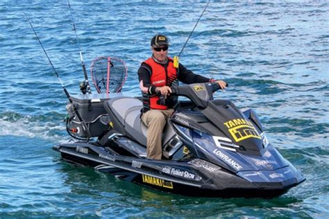 sea doo boat with trolling motor jetski fishing getting set up the fishing website