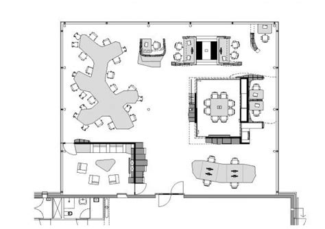 interior open office floor plan designs throughout ynno modern small office floor plans 588x415 co working