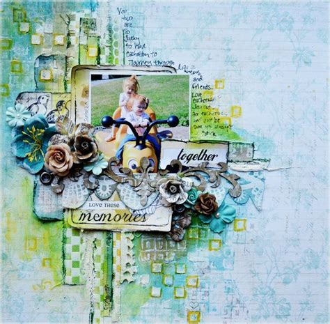 layoutit tutorial scrapbooking mixed media layout tutorial once upon a