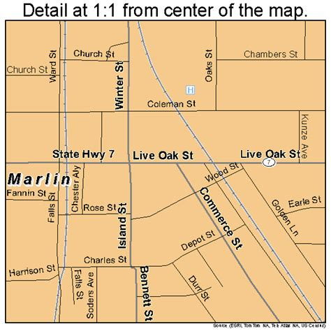 marlin texas map marlin texas map 4846740