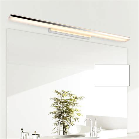 long mirror with lights modern 100cm long aluminum bathroom mirror light luminaria