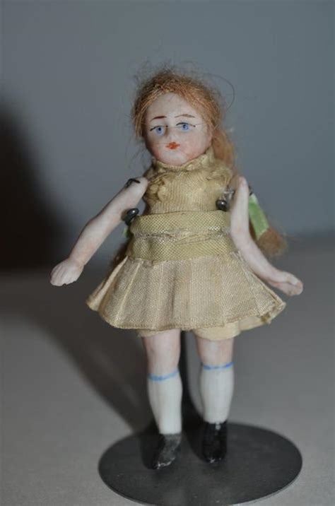 bisque jointed doll antique doll all bisque miniature dollhouse jointed from