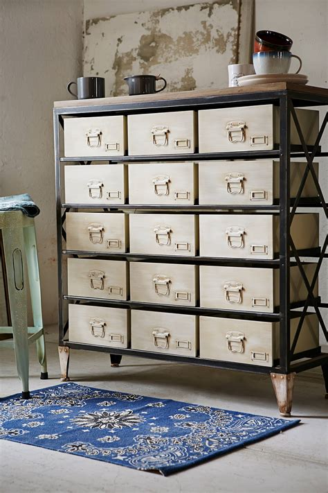 industrial storage dresser urban outfitters