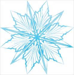 Frozen Snowflake Templates by 6 Frozen Snowflake Templates Free Printable Word Pdf
