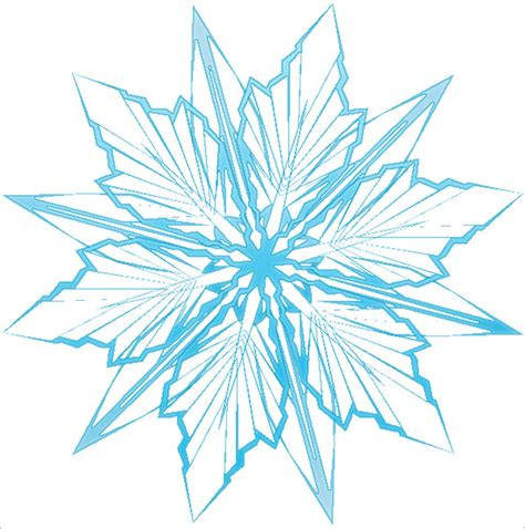 Printable Snowflake Template by 6 Frozen Snowflake Templates Free Printable Word Pdf